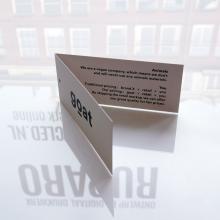 hangtag op recycled papier 1